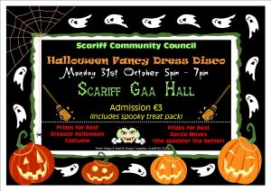 Halloween Fancy Dress Disco @ Scariff GAA Hall | Scarriff | County Clare | Ireland