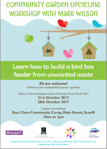 Garden Upcycling Workshop @ East Clare Community Co-op | County Clare | Ireland