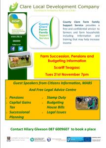 Farm Finance Information @ Teagasc | County Clare | Ireland