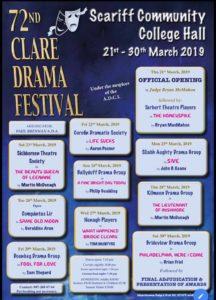 72nd Clare Drama Festival 2019 @ Scariff Community College